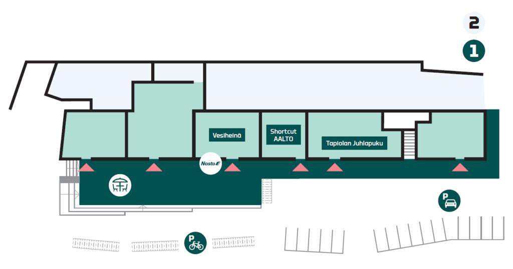 A Blanc first floor floor plan