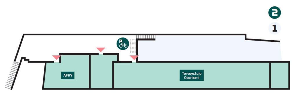 A Blanc second floor floor plan